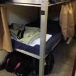 my sleeping quarters aboard the Florida Fish Finder - Dry Tortugas, FL - 2012-04-25