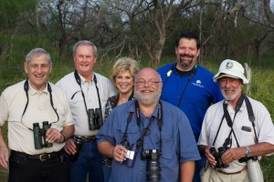 From left to right: Al Levantin, Phil & Karen Hunke, Greg Miller, Jeff Gordon, Sandy Komito