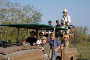 700 plus club members in ranch tour vehicle