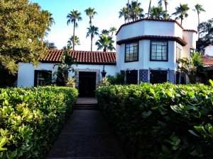 The main building at Quinta Mazatlan - McAllen TX - 2012-12-12