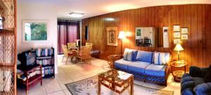 Living area in apartment suite - Alamo Inn - Alamo TX - December 2012