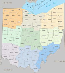 Ohio 9 regions