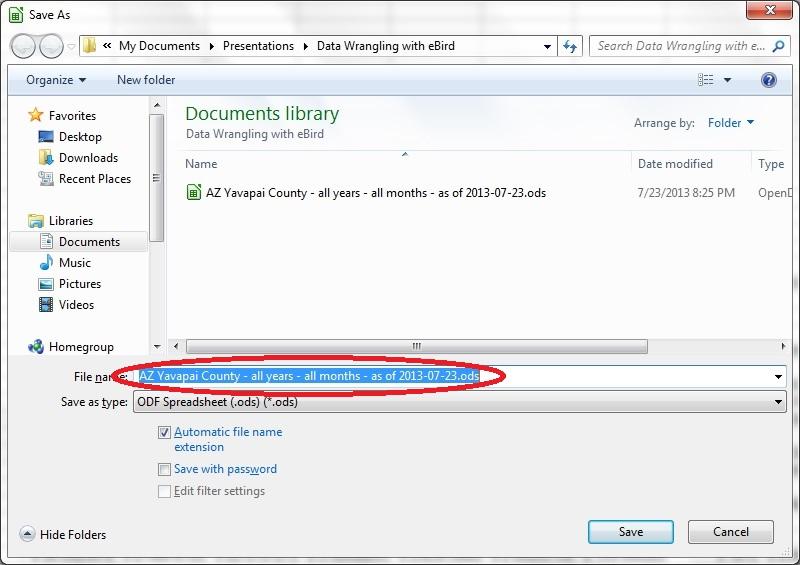 14 LibreOffice Save As Dialog 2