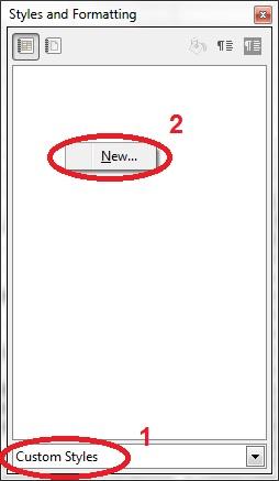 15 spreadsheet create a new custom style