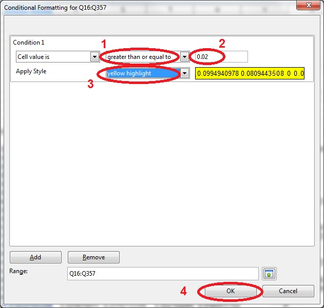 20 spreadsheet conditional formatting 2